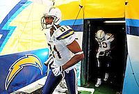 Sep. 20, 2009; San Diego, CA, USA; San Diego Chargers wide receiver (81) Kassim Osgood against the Baltimore Ravens at Qualcomm Stadium in San Diego. Baltimore defeated San Diego 31-26. Mandatory Credit: Mark J. Rebilas-