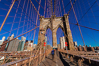USA-New York City-Bridges-Brooklyn Bridge