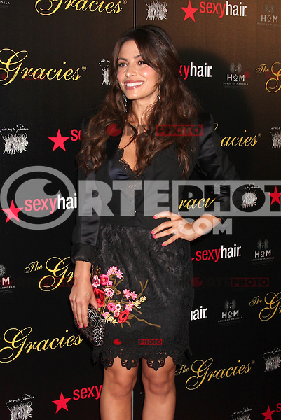 Sarah Shahi at the Alliance for Women in Media Foundation's 37th Annual Gracie National Awards at The Beverly Hilton Hotel on May 22, 2012 in Beverly Hills, California. © mpi28/MediaPunch Inc.