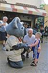 Little Boy & Busch Gardens Character
