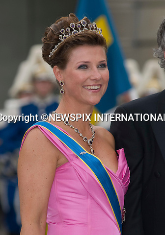 """PRINCE MARTHA LOUISE.PRINCESS VICTORIA AND DANIEL WESTLING WEDDING.Royal Guests at the wedding  Stockholm_19/062010.Mandatory Credit Photo: ©DIAS-NEWSPIX INTERNATIONAL..**ALL FEES PAYABLE TO: """"NEWSPIX INTERNATIONAL""""**..IMMEDIATE CONFIRMATION OF USAGE REQUIRED:.Newspix International, 31 Chinnery Hill, Bishop's Stortford, ENGLAND CM23 3PS.Tel:+441279 324672  ; Fax: +441279656877.Mobile:  07775681153.e-mail: info@newspixinternational.co.uk"""