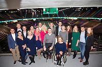 Februari 12, 2015, Netherlands, Rotterdam, Ahoy, ABN AMRO World Tennis Tournament, Management team<br /> Photo: Tennisimages/Henk Koster