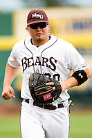 Luke Voit (30) of the Missouri State Bears prior to a game against the Bradley Braves on May 13, 2011 at Hammons Field in Springfield, Missouri.  Photo By David Welker/Four Seam Images