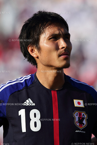 Ryoichi Maeda (JPN), .NOVEMBER 14, 2012 - Football / Soccer : A portrait of Ryoichi Maeda during the 2014 FIFA World Cup Asian Qualifiers Final round Group B match between Oman 1-2 Japan at Sultan Qaboos Sports Complex in Boshar, Muscat, Oman. (Photo by AFLO)