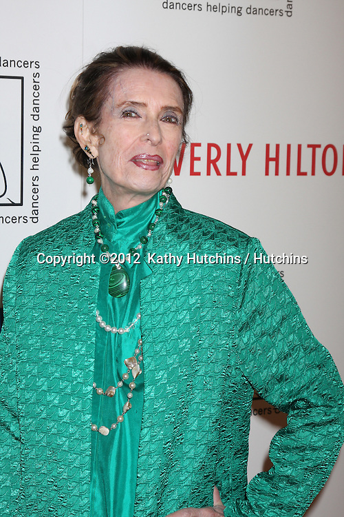LOS ANGELES - MAR 18:  Margaret O'Brien arrives at the Professional Dancer's Society Gypsy Awards at the Beverly Hilton Hotel on March 18, 2012 in Los Angeles, CA