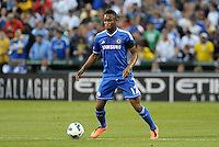 Mikel Chelsea in action..Manchester City defeated Chelsea 4-3 in an international friendly at Busch Stadium, St Louis, Missouri.