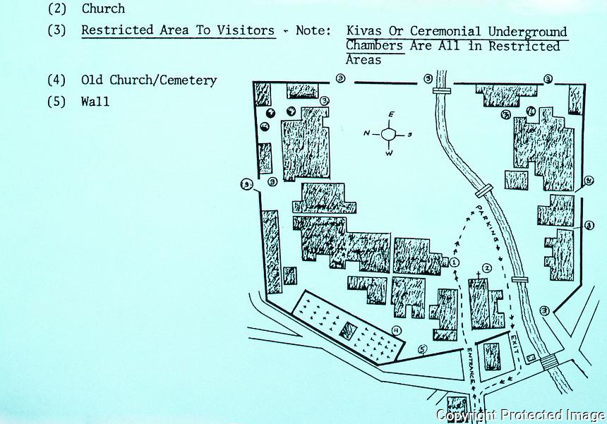 Ground Plan: Taos Pueblo, 1987.