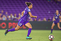 Orlando, FL - Saturday July 15, 2017: Kristen Edmonds during a regular season National Women's Soccer League (NWSL) match between the Orlando Pride and FC Kansas City at Orlando City Stadium.