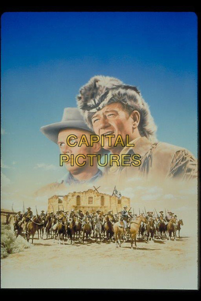John Wayne<br /> in The Alamo (1960) <br /> *Filmstill - Editorial Use Only*<br /> CAP/NFS<br /> Image supplied by Capital Pictures