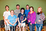 Listowel Badminton Tournament : Taking part in the Listowel Badminton Club Invitation Mixed Double tournament held in the Listowel Community Sports Centre on Sunday last were Andrew Dai, Deidre McAuliffe, Niall O'Hanlon, Marie Kennelly, Padraigh Barrett, Jennifer Murphy & Margaret Healy.