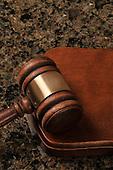 Stock photo of judicial gavel