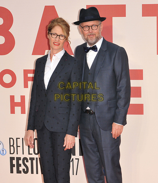 Valerie Faris and Jonathan Dayton at the 61st BFI LFF &quot;Battle of the Sexes&quot; American Express gala, Odeon Leicester Square, Leicester Square, London, England, UK, on Saturday 07 October 2017.<br /> CAP/CAN<br /> &copy;CAN/Capital Pictures