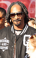 LOS ANGELES, CA - JULY 17: Snoop Dogg attends the ESPY Awards 2013 held at Nokia Theatre L.A. Live on July 17, 2013 in Los Angeles, California. (Photo by Celebrity Monitor)