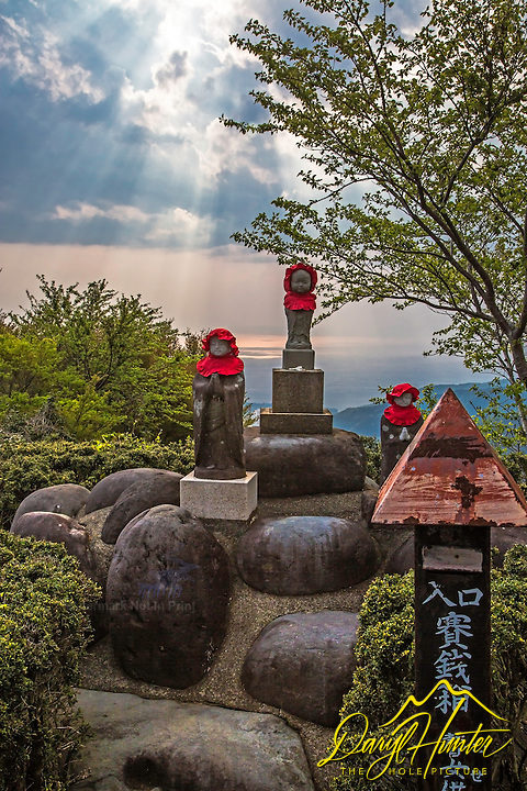 Roadside shrine, Heda Port, Izu Pensinsula