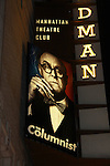 "Marquee of Broadway's ""The Columnist"" presented by the Manhattan Theatre Club on April 7, 2012 at the Samuel J. Friedman Theatre, New York City, New York. (Photo by Sue Coflin/Max Photos)"