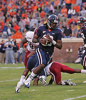 Virginia beat UNC 47-7 October 10, 2009 in Chapel Hill, NC.  Photo by Andrew B. Shurtleff.
