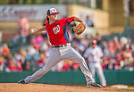 2 March 2013: Washington Nationals pitcher Erik Davis on the mound during a Spring Training game against the St. Louis Cardinals at Roger Dean Stadium in Jupiter, Florida. The Nationals defeated the Cardinals 6-2 in their first meeting since the NLDS series in October of 2012. Mandatory Credit: Ed Wolfstein Photo *** RAW (NEF) Image File Available ***