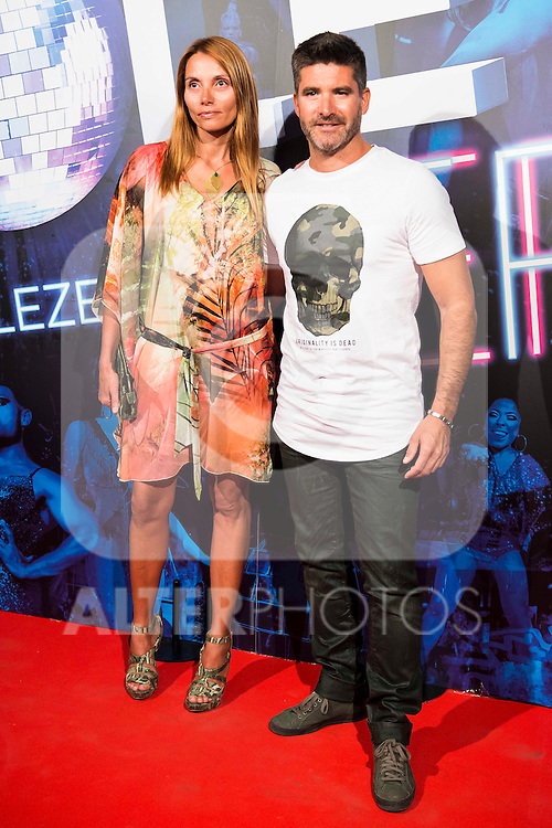 Lorena Romero and Toño Sanchis attends to the premiere of the The Hole Zero Show at Teatro Calderon in Madrid. October 04, 2016. (ALTERPHOTOS/Borja B.Hojas)