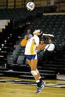 SAN ANTONIO , TX - AUGUST 28, 2009: The Millersville University Marauders vs. the St. Mary's University Rattlers Women's Volleyball during Day 2 of the 2009 Texas MedClinic Invitational Tournament at Bill Greehey Arena on the campus of St. Mary's University. (Photo by Jeff Huehn).