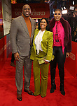 "Earvin Magic Johnson, Cookie Johnson, EJ Johnson attend the Broadway Opening Night Performance of ""To Kill A Mockingbird"" on December 13, 2018 at The Shubert Theatre in New York City."