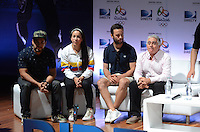 MEDELLÍN - COLOMBIA, 09-06-2016. Mariana Pajón y Katherine Ibarguen ofrecieron rueda de prensa para conversar sobre sus aspiracion en los Juegos olimpicos de Rio 2016. / Mariana Pajón and Katherine Ibarguen offered a press conference to share  with the media  their aspirations on the  next Olympic Games Rio 2016.  Photo: VizzorImage/ León Monsalve /STR