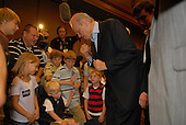 In this file photo, former United States Senator Fred Thompson (Republican of Tennessee), who is a candidate for the Republican nomination for President of the United States, speaks at a campaign event at the Cedar Rapids Marriott, Cedar Rapids, Iowa on Saturday, September 8, 2007. Thompson's family announced he passed away on Sunday, November 1, 2015 at age 73 in Nashville, Tennessee after a recurrence of lymphoma.<br /> Credit: Ron Sachs / CNP<br /> (RESTRICTION: NO New York or New Jersey Newspapers or newspapers within a 75 mile radius of New York City)