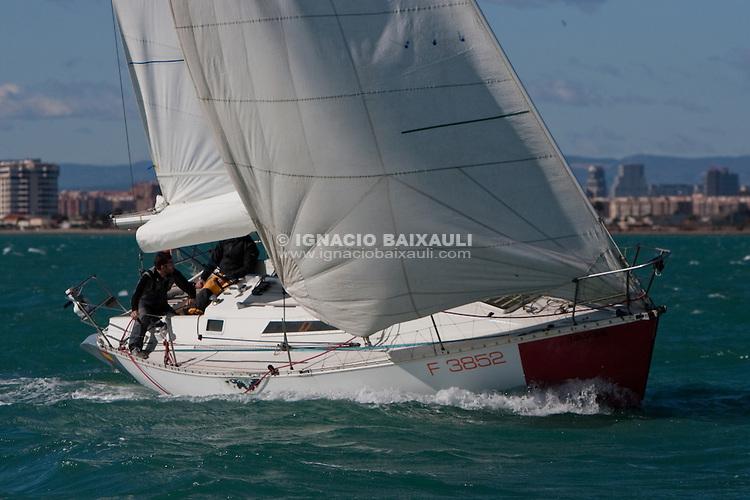 XV Trofe 30 Millas a 2 - IV Memorial Luis Sáez, 30/1/2010 Port Saplaya