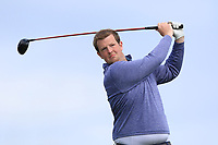 David Shaw (Belvoir Park) on the 10th tee during Round 4 of The East of Ireland Amateur Open Championship in Co. Louth Golf Club, Baltray on Monday 3rd June 2019.<br /> <br /> Picture:  Thos Caffrey / www.golffile.ie<br /> <br /> All photos usage must carry mandatory copyright credit (© Golffile | Thos Caffrey)