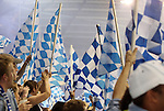 09 June 2011: Kansas City fans. Sporting Kansas City played the Chicago Fire to a 0-0 tie in the inaugural game at LIVESTRONG Sporting Park in Kansas City, Kansas in a 2011 regular season Major League Soccer game.