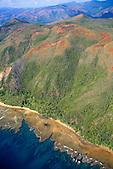 Récif de corail aux pieds du Mont Ouinné, côte oubliée, Nouvelle-Calédonie