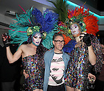 Alan Cumming with Drag Queens attending the Liza Minnelli 67th Birthday Celebration at the Copa in New York City on 3/13/2013..