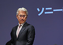 April 28, 2017, Tokyo, Japan - Japan's eleectronics giant Sony executive vice president and CFO Kenichiro Yoshida announces the company's financial result ended March 31 at the Sony headquarters in Tokyo on Friday, April 28, 2017. Sony posted its net profit of 73.3 billion yen, 50 percent down from previous year.   (Photo by Yoshio Tsunoda/AFLO) LwX -ytd-