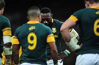 Tendai Mtawarira of South Africa looks dejected. Killik Cup International match, between the Barbarians and South Africa on November 5, 2016 at Wembley Stadium in London, England. Photo by: Patrick Khachfe / JMP