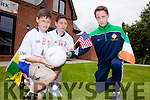 There is great excitement and rivalry as New York cousins Luke and Robert Corridan take on their cousin Jack Corridan from Killarney at Feile Peile this weekend.