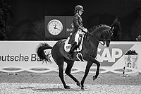GBR-Charlotte Dujardin rides Erlentanz during the Deutsche Bank Prize, Grand Prix Dressage of Aachen. 2019 GER-CHIO Aachen Weltfest des Pferdesports. Sunday 21 July. Copyright Photo: Libby Law Photography