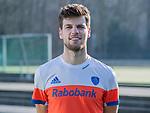 UTRECHT - Lars Balk,  home  shirt speler Nederlands Hockey Team heren. COPYRIGHT KOEN SUYK