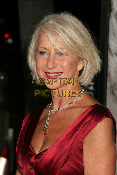 "HELEN MIRREN.Los Angeles Premiere of ""The Queen"", Beverly Hills, California, USA..October 3rd, 2006.Ref: ADM/BP.headshot portrait diamond necklace.www.capitalpictures.com.sales@capitalpictures.com.©Byron Purvis/AdMedia/Capital Pictures."