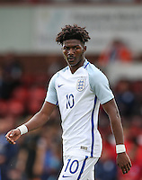 Ainsley Maitland-Niles (Arsenal) of England during the International match between England U20 and Brazil U20 at the Aggborough Stadium, Kidderminster, England on 4 September 2016. Photo by Andy Rowland / PRiME Media Images.