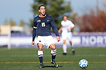 21 October 2012: Penn State's John Gallagher. The Northwestern University Wildcats played the Penn State University Nittany Lions at Lakeside Field in Evanston, Illinois in a 2012 NCAA Division I Men's Soccer game. Penn State won the game 1-0 in golden goal overtime.