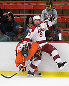 Dan Bartlett (Princeton - 9), Danny Biega (Harvard - 9) - The Princeton University Tigers defeated the Harvard University Crimson 2-1 on Friday, January 29, 2010, at Bright Hockey Center in Cambridge, Massachusetts.
