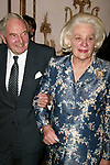 David Rockefeller and Happy Rockefeller Attends the United Nations Association of USA Global Leadership Dinner honoring Oprah Winfrey with the Global Humanitarian Action Award at the Waldorf Astoria Hotel in New York City.<br />September 30, 2004