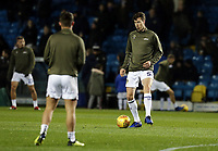 Leeds United's Aapo Halme during the pre-match warm-up <br /> <br /> Photographer Rich Linley/CameraSport<br /> <br /> The EFL Sky Bet Championship - Leeds United v Reading - Tuesday 27th November 2018 - Elland Road - Leeds<br /> <br /> World Copyright © 2018 CameraSport. All rights reserved. 43 Linden Ave. Countesthorpe. Leicester. England. LE8 5PG - Tel: +44 (0) 116 277 4147 - admin@camerasport.com - www.camerasport.com