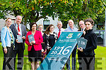 At the launch of the 1916 commemoration programme at Kerry County Council Buildings on Thursday were front l-r Caroline Lynch aka Maud Gonne.Back l-r Kate Kennelly,Arts Officer KCC, Jim Finucane,Deputy Cathaoirleach KCC, Maura Murrell,Chief Executive Officer KCC, Sarah O'Farrell,Kerry County Museum, Gemma O'Connell,Kerry County Museum, Mike Lynch,Archivist, Robert Beasley,Chairman of the stragestic policy cotee overseeing the Commemorations and David O'Docherty,UCC.The first event takes place on Saturday the 3rd of October at 11o clock at Kerins O'Rahillys,Tralee