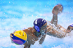 Mitsuaki Shiga (JPN), <br /> AUGUST 14, 2016- Water Polo : <br /> Men's Preliminary Round group A<br /> match between Serbia - Japan <br /> at Olympic Aquatics Stadium<br /> during the Rio 2016 Olympic Games in Rio de Janeiro, Brazil. <br /> (Photo by Yohei Osada/AFLO SPORT)