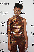 WEST HOLLYWOOD, CA - JANUARY 11: Sonequa Martin, at Marie Claire's Third Annual Image Makers Awards at Delilah LA in West Hollywood, California on January 11, 2018. Credit: Faye Sadou/MediaPunch