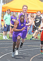 Track at Big Orange Invitational 4-18-15