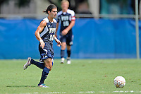 10 September 2011:  FIU's Lucas Di Croce (10) moves the ball upfield in second half as the FIU Golden Panthers defeated the Stetson University Hatters, 3-2 in the second overtime period, at University Park Stadium in Miami, Florida.