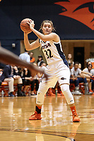 SAN ANTONIO, TX - NOVEMBER 11, 2019: The University of the Incarnate Word Cardinals fall to the University of Texas at San Antonio Roadrunners 63-56 at the Historic UTSA Convocation Center. (Photo by Jeff Huehn)