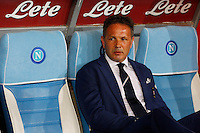Sinisa Mihajlovic  during the Italian Serie A soccer match between   SSC Napoli and UC Sampdoria at San Paolo  Stadium in Naples ,April 26 , 2015