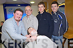 Tralee IT Students who took part in a Movember Shave off with an open shave by Claude Monte Barbers from left Barry McGann, Darryl Besley, Michael Carroll and Denis Moriarty.